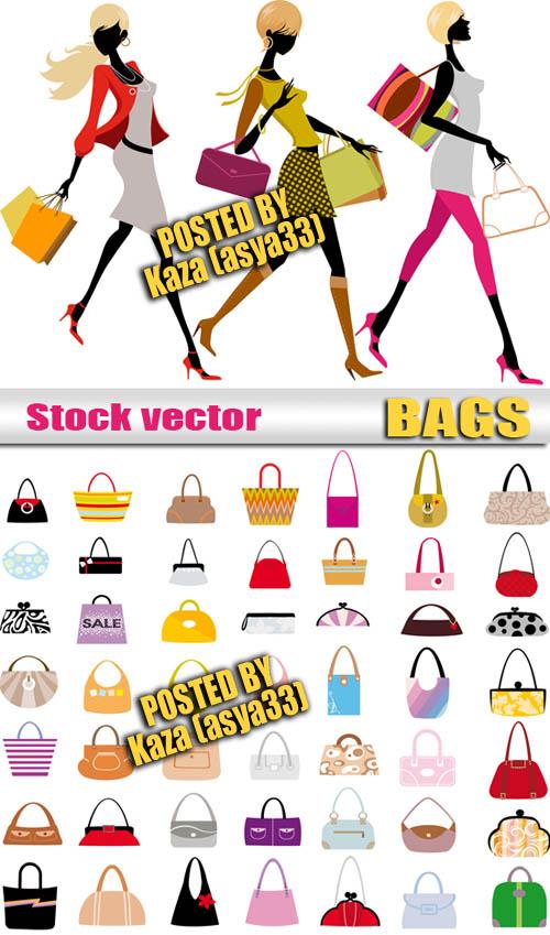 ファッション女性のベクター素材