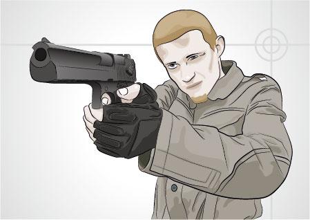 Vektor-bewaffnete