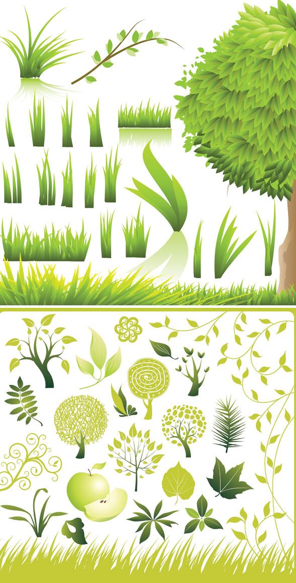 Vector verde