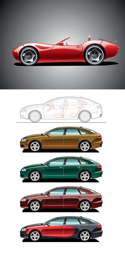 ベクトルのスポーツ車