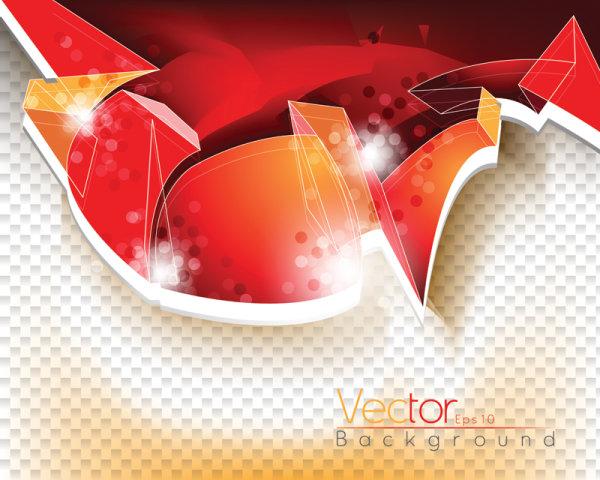 La tendencia del flujo dinámico de línea guapísima 02 - Vector