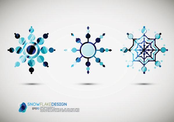 Icône de style 01 - vecteur de neige.