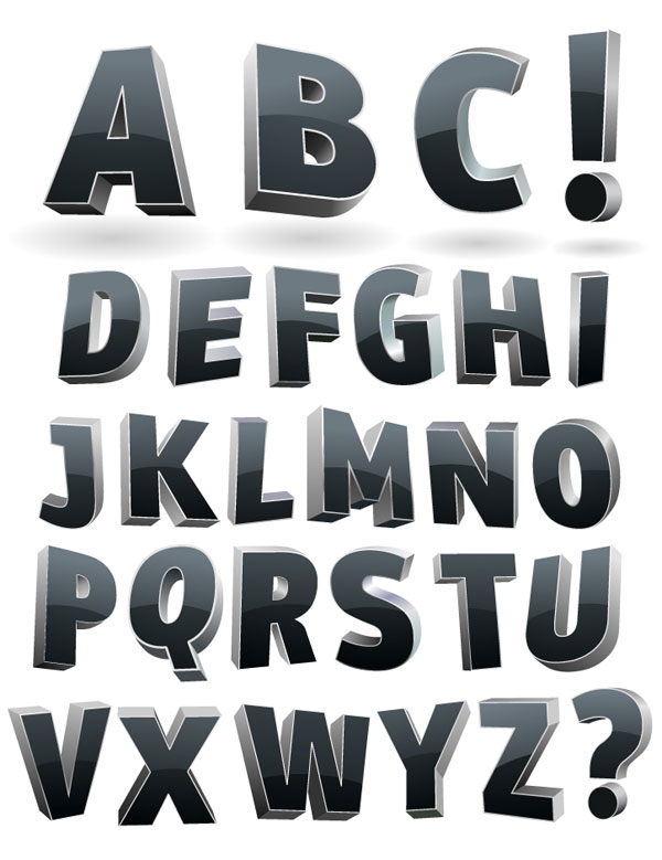 Alfabeto de cortina