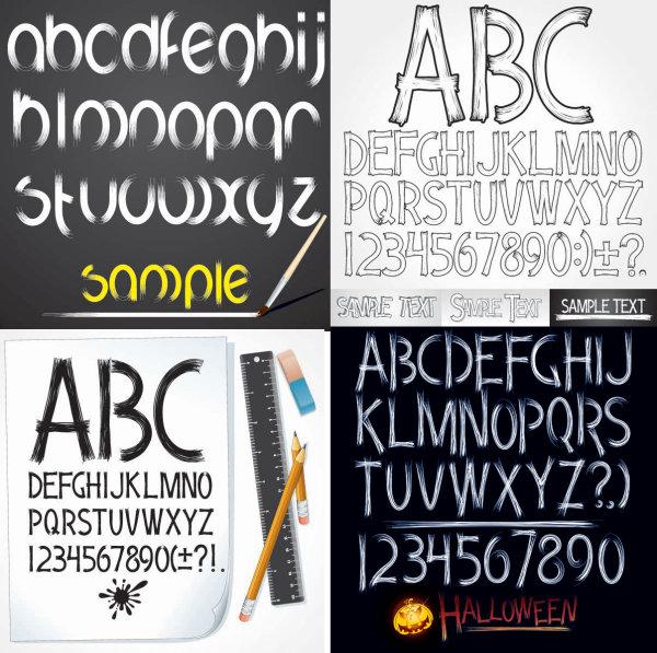 Ручная роспись стиль письма
