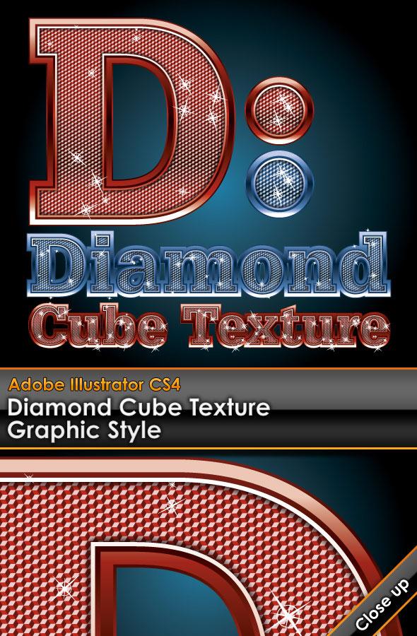 diamant matériel de vecteur de mot Art