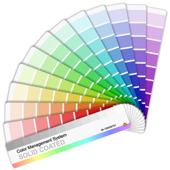Papel de tarjeta de color vector