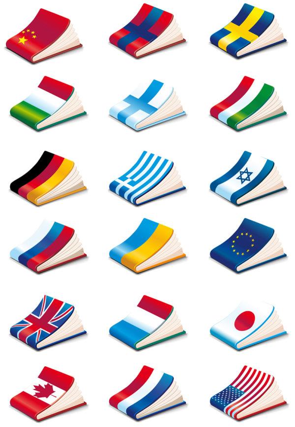 ノート カバー国旗