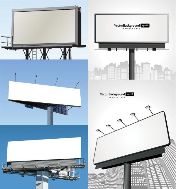 Leere billboard