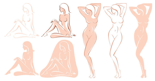 女性のベクトル