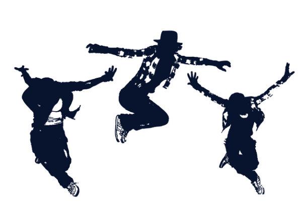 Vetor de dança clássica figuras