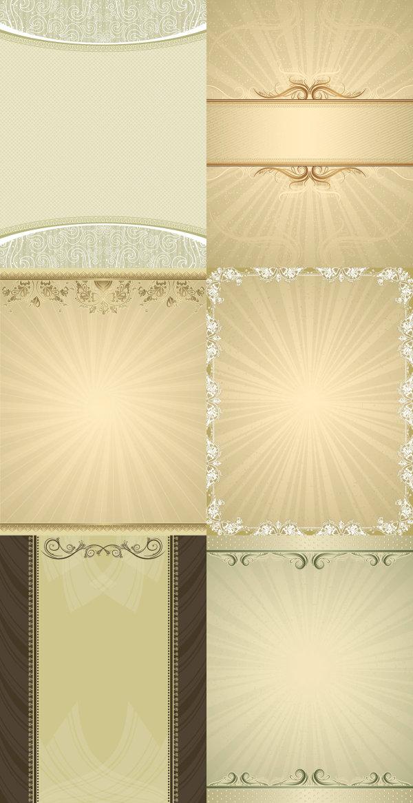 Material de vectores de patrón de fondo elegante