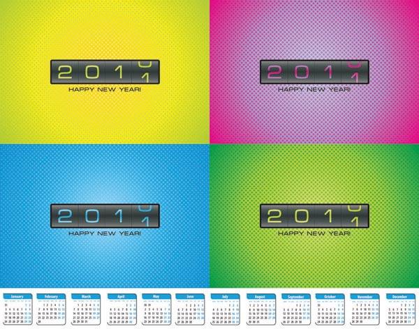 スクロール カレンダー カード ベクトル