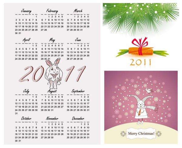 Calendar Year of the Rabbit 2011
