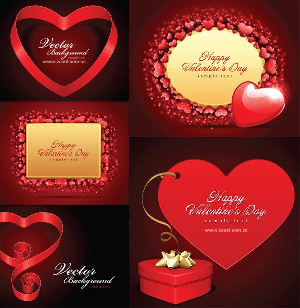 Valentine romantique