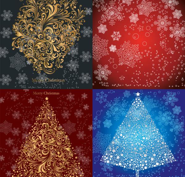 Padrão de Natal - Vector