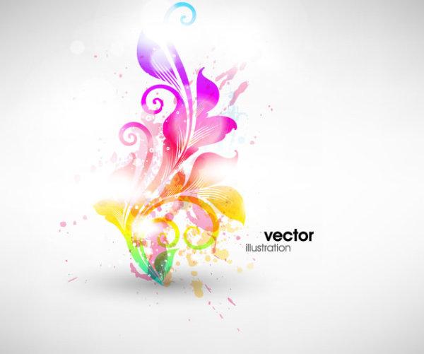 Material de vectores de patrón Sinfonía moda -2