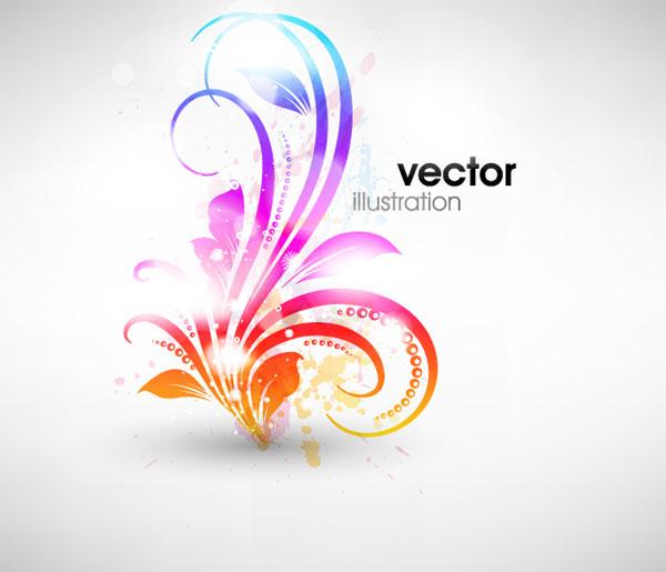 Padrão de moda da Sinfônica de vetor -1 material