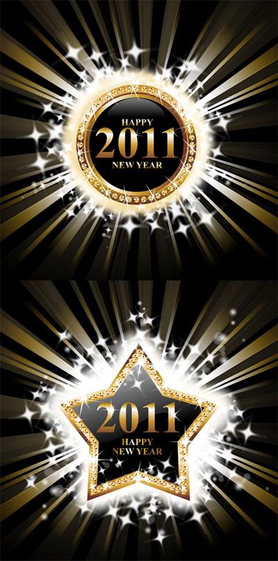 2011 luz gráficos vectoriales