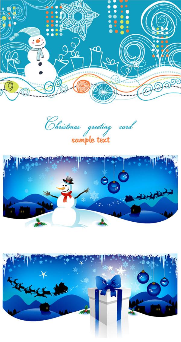 Matériau de fond-vecteur pour le dessin animé Noël