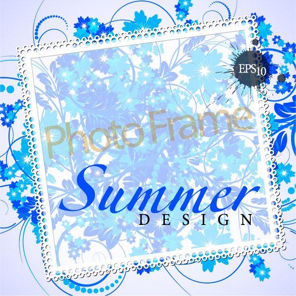 Design élégant de la matière de vecteur patron ombrage décoratifs boîte texte -1