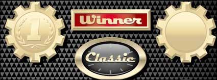 Icono de sobre racing car
