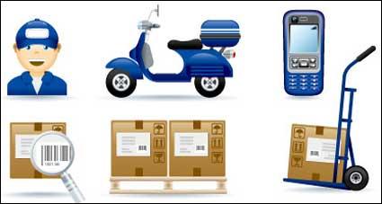 Vector icono acerca de entrega urgente