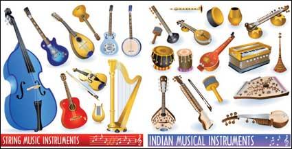 Icono de vector de instrumentos musicales
