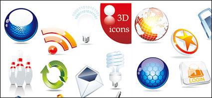 Textura de Vector icono conjuntos de material sólido