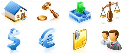 Icono de Vector de Finanzas