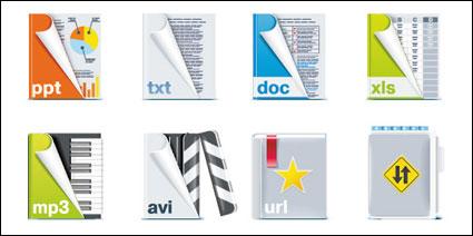 Format de fichier icône vecteur matériel