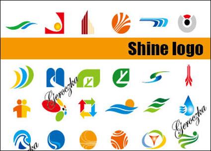 Certains types de matériel graphique vectoriel logo