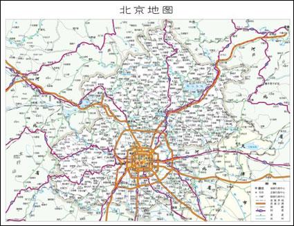 베이징 인공 지능의 지도? Cdr