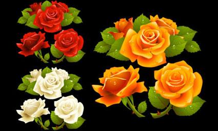 どのような美しいバラのベクトル