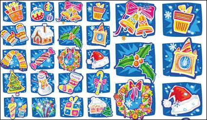 Mano cartoon Vector de Navidad