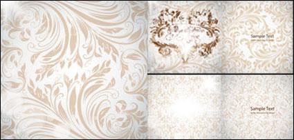 Precioso material de vectores de patrón de estilo Europeo