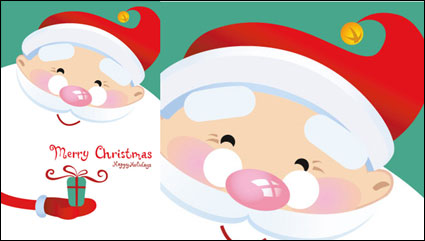 Lovely Father Christmas Vector