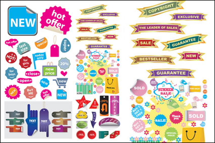 Site d'achat décoratifs icône graphique