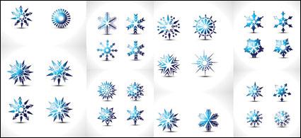 Copo de nieve especial de vectores