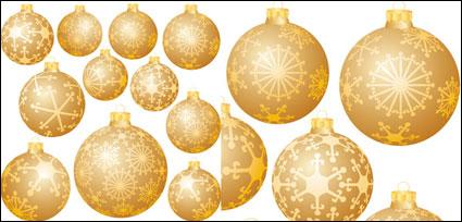 Bola de nieve de Navidad decoraciones Vector