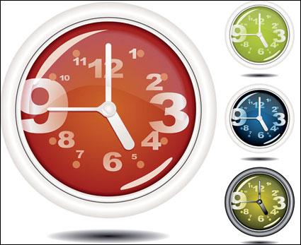 jam khusus vektor gratis download