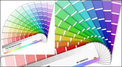 กระดาษการ์ดสีของเวกเตอร์