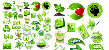 Green element vector material