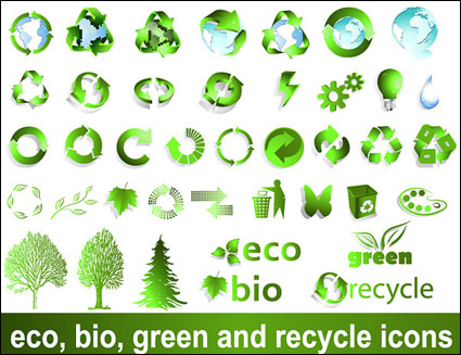 Recyclable material sign vector