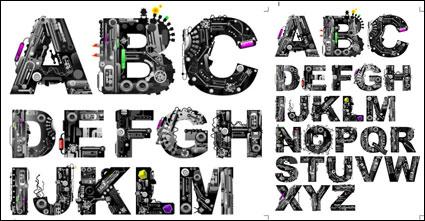 Mechanische Buchstaben