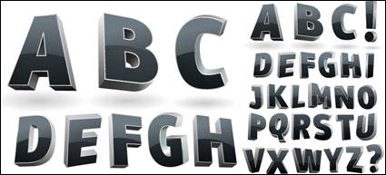 Dreidimensionalen Vektor-alphabet