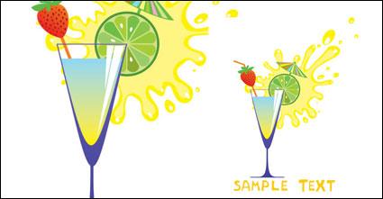 แก้วและผลไม้การทำนายสูงการ์ตูน 05 - เวกเตอร์