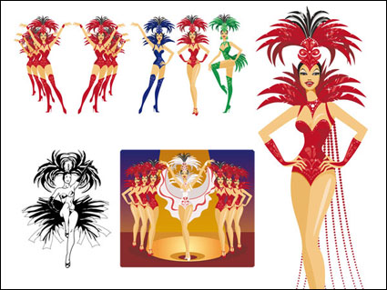 Showgirls เวกเตอร์