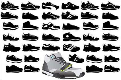 Вектор обувь