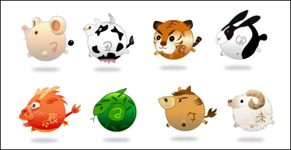 12 animales del Zodiaco