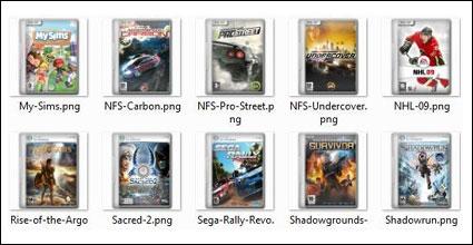 Filmes e jogos de computador cobrem ícones png -2